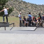 Riley Curry 702 boardshop contest at Indian Hills skatepark