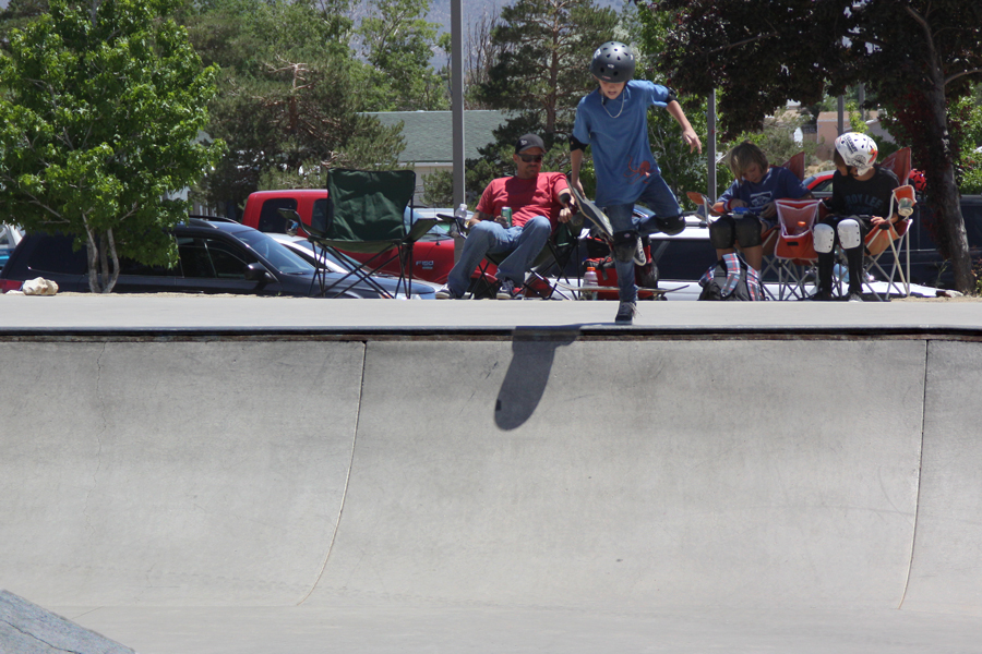 702 boardshop contest at Indian Hills skatepark