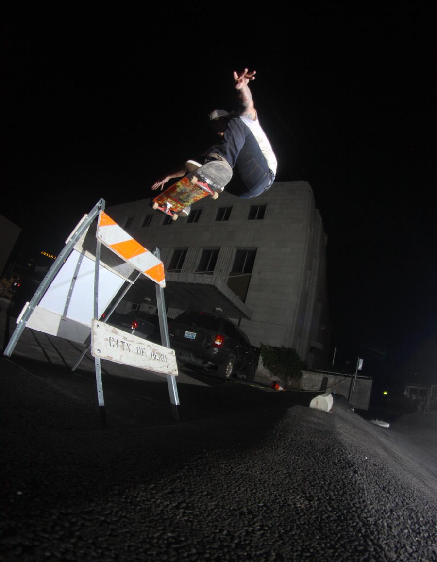 Tom Bursill reno skateboarding