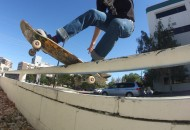 Glynn Osburn frontside boardslide photo Volland