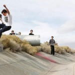 Nathan Alegria nose grind during best trick section