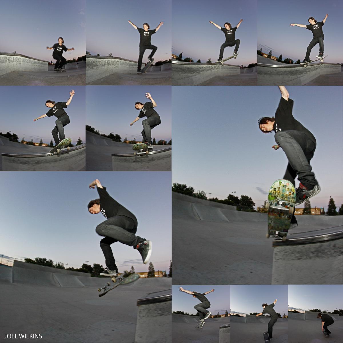 joel wilkins skateboarding reno