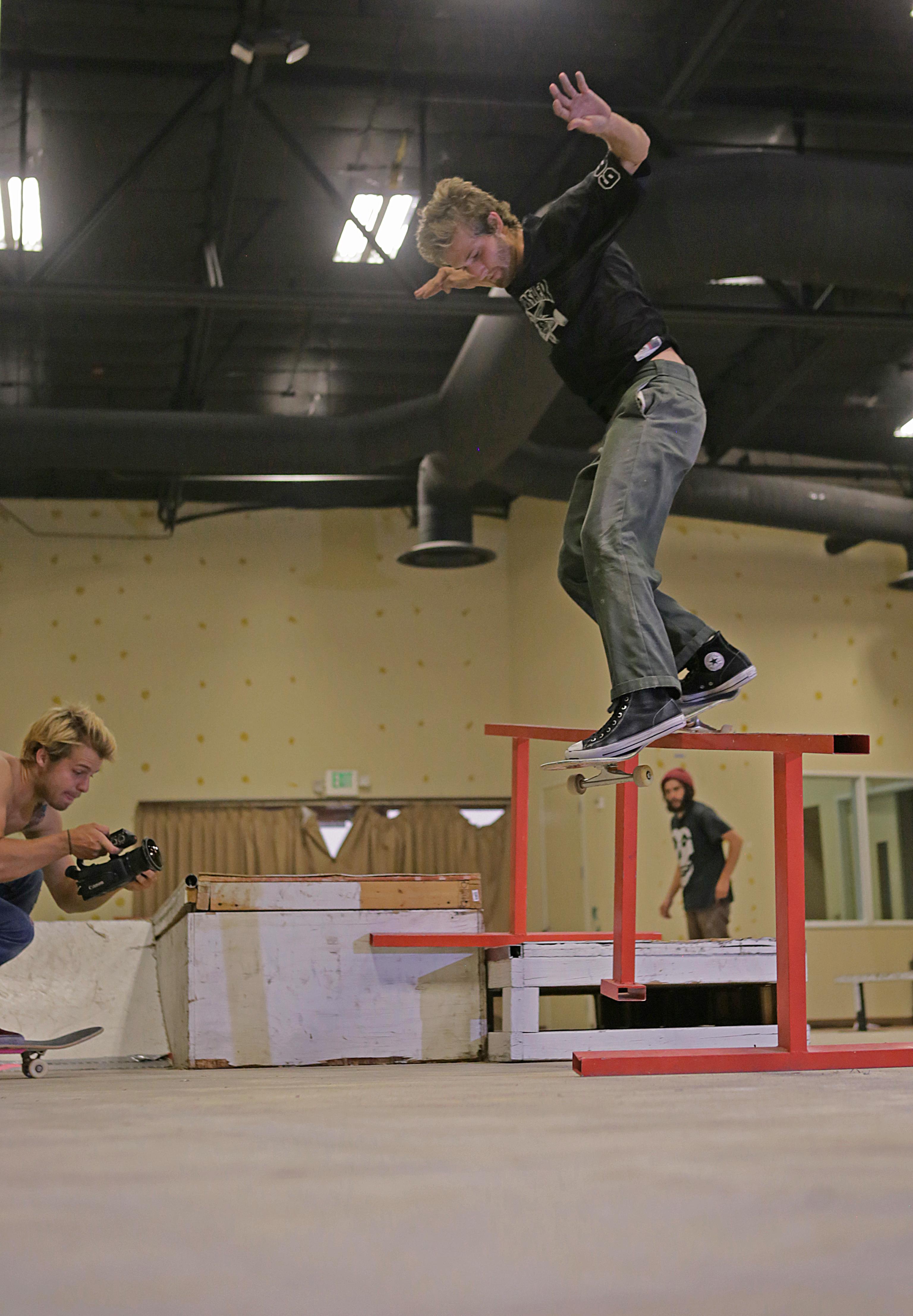 MItch Haight bs smith at Skate Church