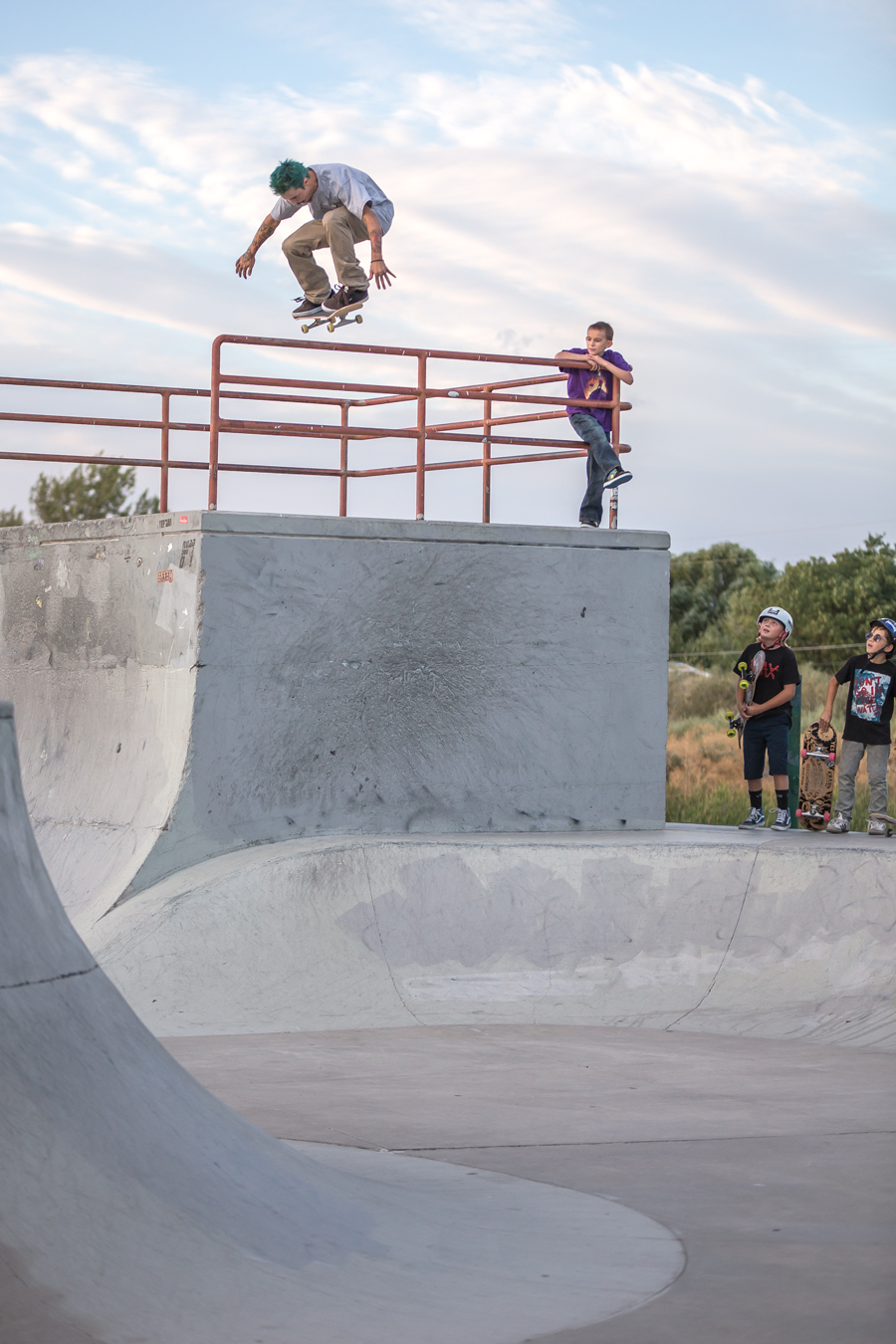 Tail Drop at Mira Loma